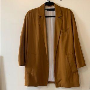 Oversized Drop Shoulder Zara Blazer